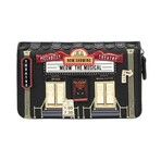 Vendula Piccadilly Theatre Medium Zip Around Wallet