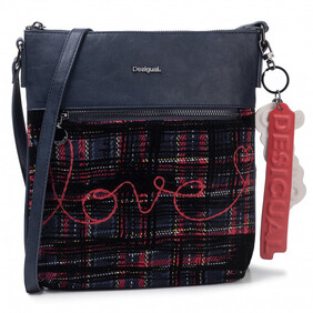 Desigual - Tartan Love Cross Body Bag