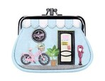 Vendula Bicyclette Clipper Coin Purse